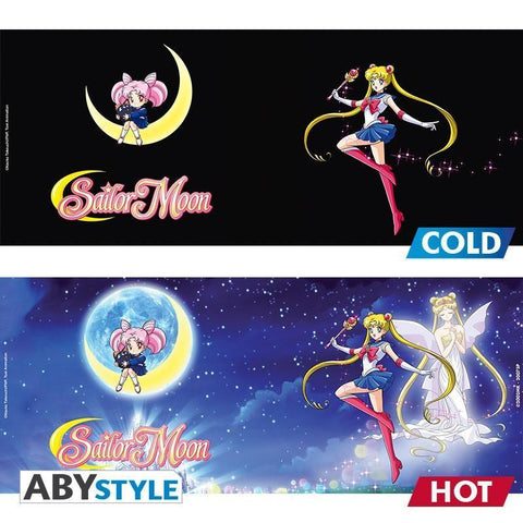 Mug Thermo-Réactif Sailor Moon - Sailor & Chibi