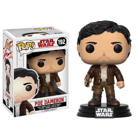 POP! Bobble : Star Wars Ep8 The Last Jedi - Poe Dameron