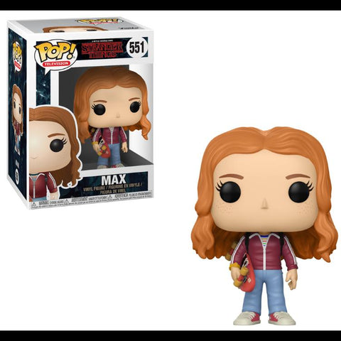 POP! Vinyl : Stranger Things - Max with Skate Deck