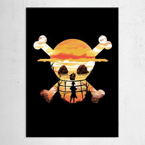 "Poster métal - One Piece ""Straw Hat Crew"""