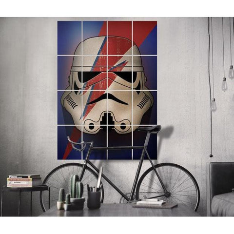 "Poster métal - Star Wars Ink Squad ""Pop Art Troopers""-Very Bad Geek"