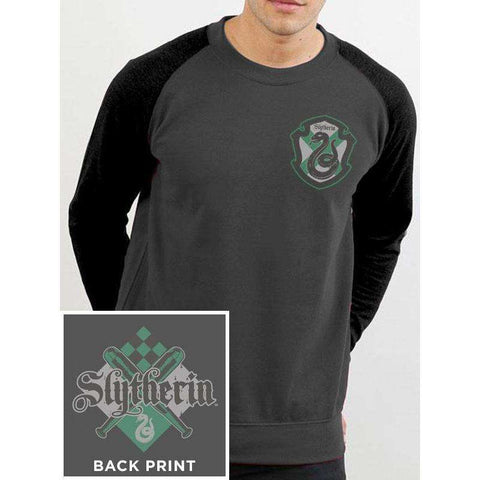 "Sweat-Shirt Homme Baseball - Harry Potter ""Serpentard"""