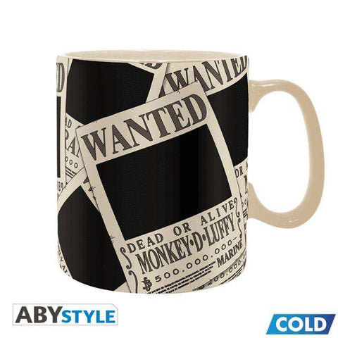 Mug Thermo-Réactif One Piece - Wanted