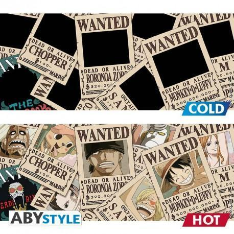 Mug Thermo-Réactif One Piece - Wanted-Very Bad Geek
