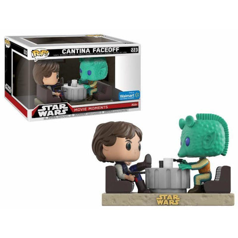 POP! Movie Moments : Star Wars - Han & Greedo Cantina Faceoff