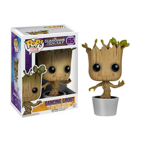 POP! Bobble : Les Gardiens de la Galaxie - Dancing Groot