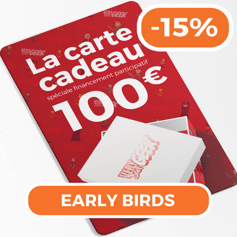 "Carte Cadeau -15% ""Early Bird""-Very Bad Geek"