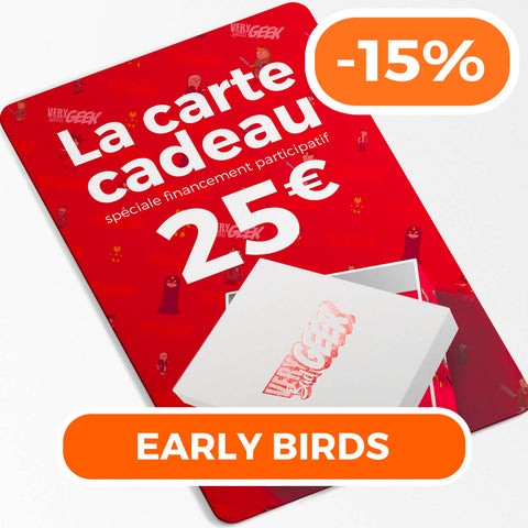 "Carte Cadeau -15% ""Early Bird"""
