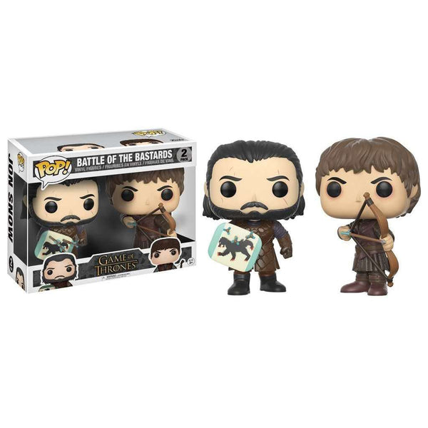 POP! 2 PACK : Game of Thrones - Battle of the Bastards Jon Snow & Ramsay Bolton