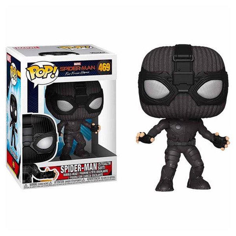 POP! Bobble : Spider-Man Far From Home - Stealth Suit-Very Bad Geek