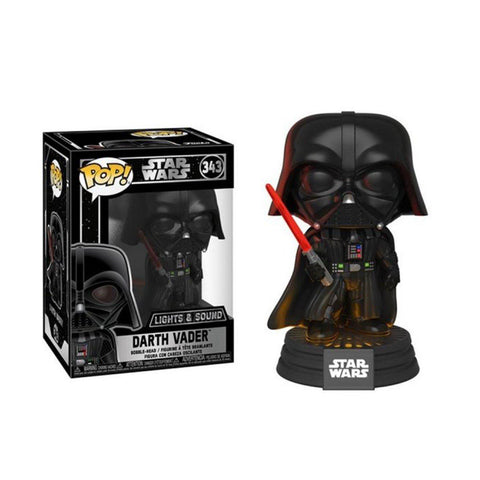 POP! Bobble : Star Wars - Darth Vader électronique