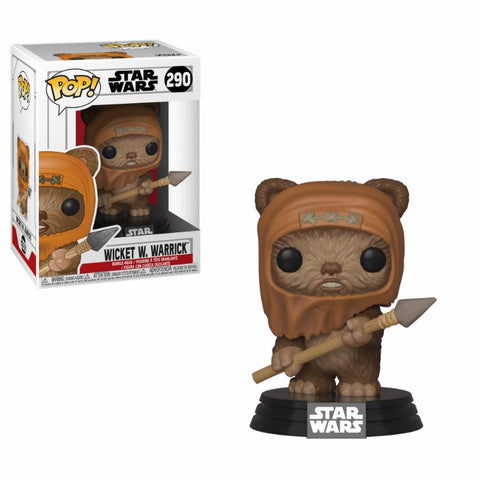 POP! Bobble : Star Wars - Wicket (Ewok)