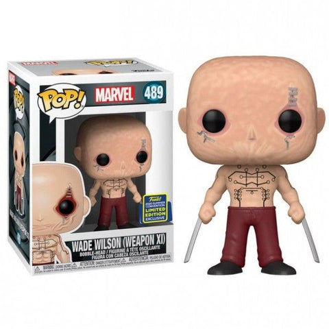 POP! Bobble : Deadpool - Wade Wilson Excl.