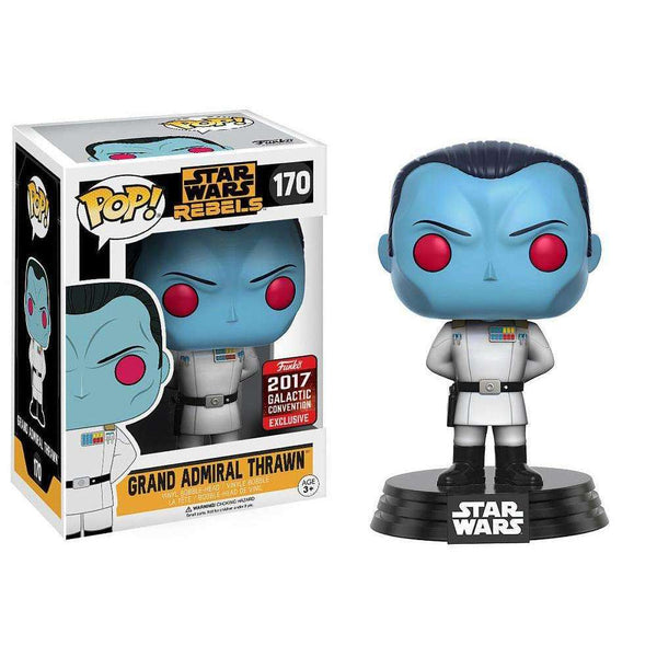 Pop! Bobble : Star Wars Rebels - Grand Admiral Thrawn EXCLU SWC17