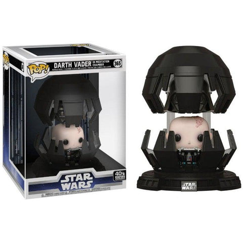 POP! Deluxe : Star Wars - Darth Vader chambre de méditation