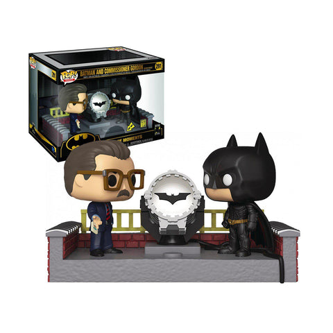 POP! Movie Moment : Batman 80th - Gordon & Batman