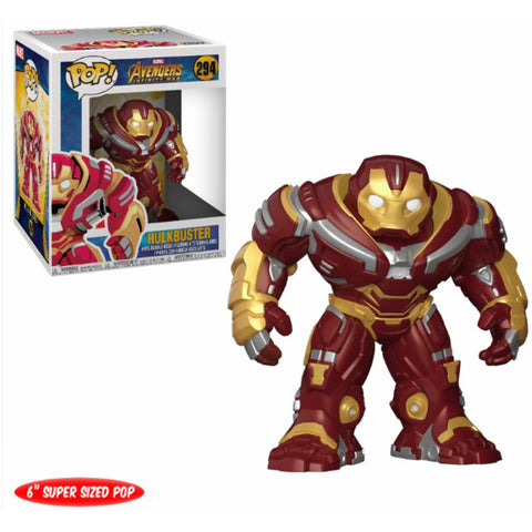 "POP! Bobble : Avengers Infinity War - 6"" Hulkbuster-Very Bad Geek"