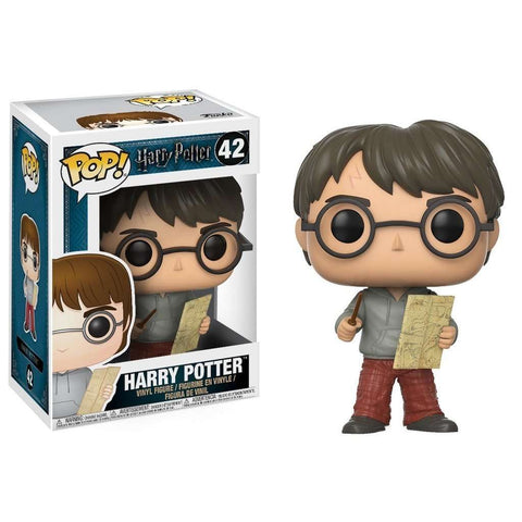 POP! Vinyl : Harry Potter - Harry with Marauders Map