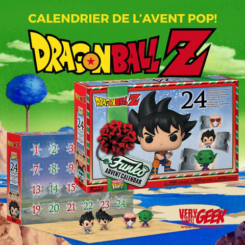 Calendrier de l'Avent Dragon Ball Z POP! - 24 figurines Pocket POP!