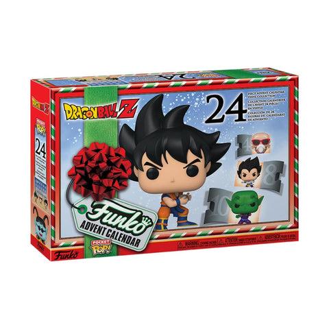 Calendrier de l'Avent Dragon Ball Z POP! - 24 figurines Pocket POP!-Very Bad Geek