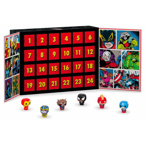 Calendrier de l'Avent Marvel POP! - 24 figurines Pocket POP!-Very Bad Geek