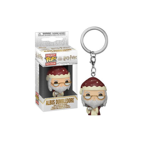 Porte-clés Pocket POP! : Dumbledore Holiday - Harry Potter