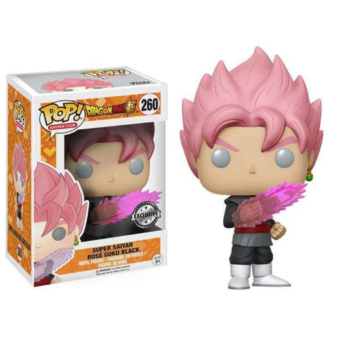 POP! Vinyl : Dragon Ball Super - Goku Black Super Saiyan Rose