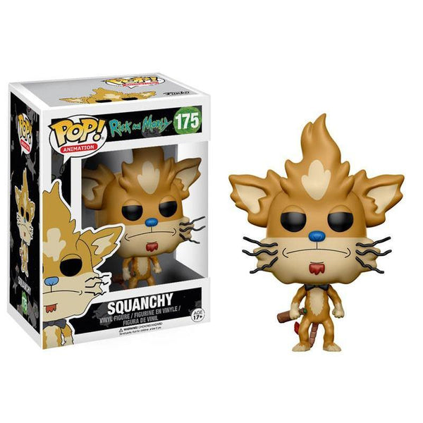 Pop! Vinyl : Rick and Morty - Squanchy