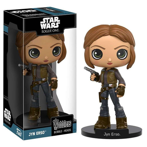 Wacky Wobbler : Star Wars Rogue One - Jyn Erso