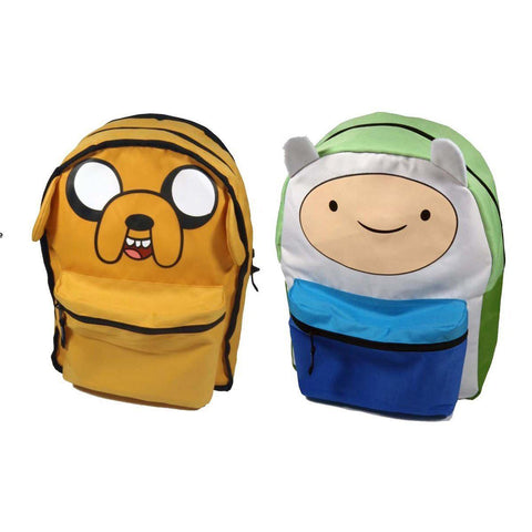 "Sac à dos Adventure Time réversible 2en1 ""Jake & Finn"""