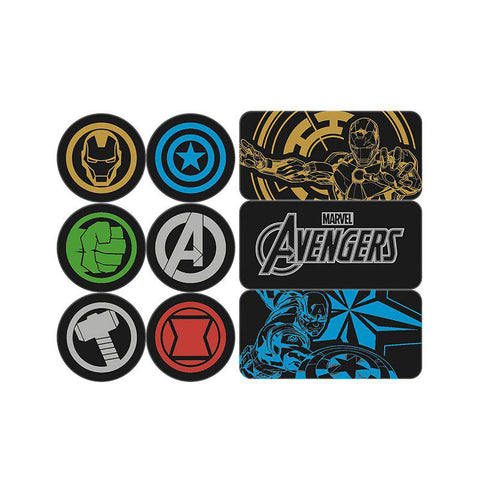 Magnet Avengers - Set de 9 aimants