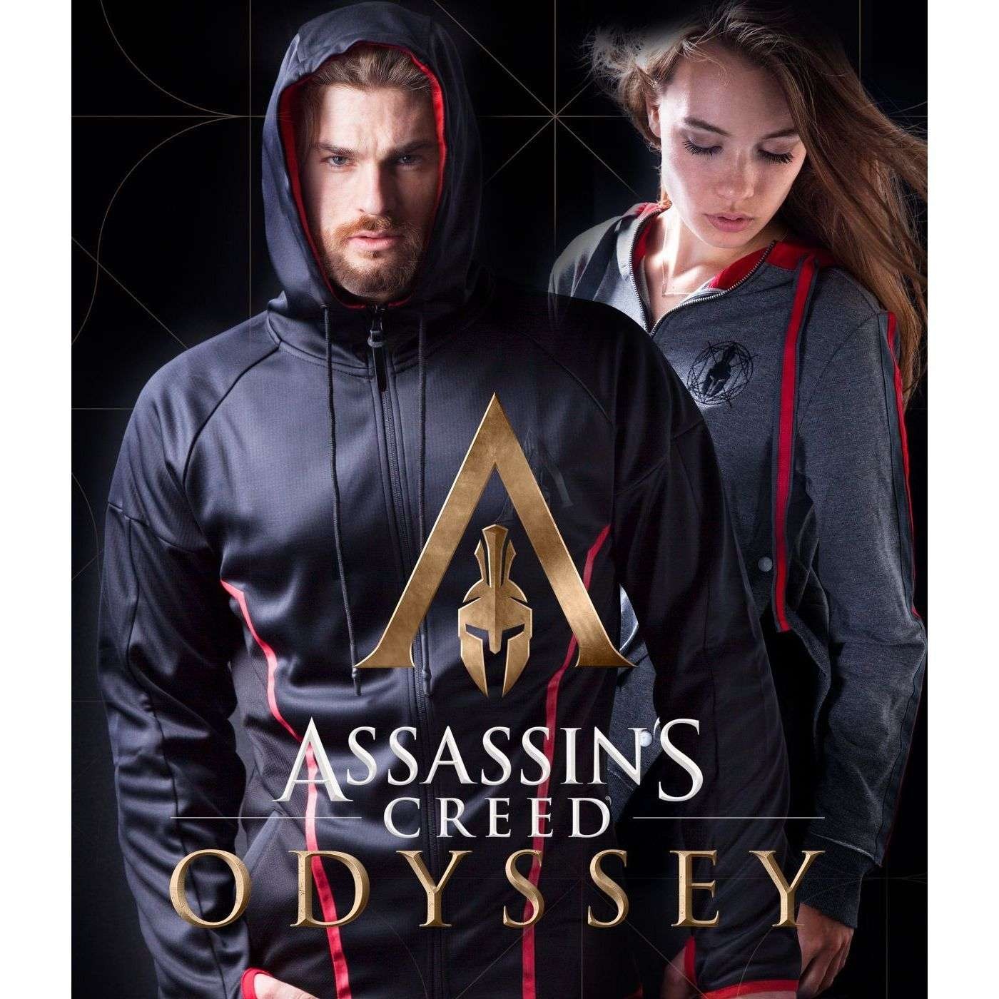 Veste à capuche Assassin's Creed Odyssey Technical Hexagonal Hoodie