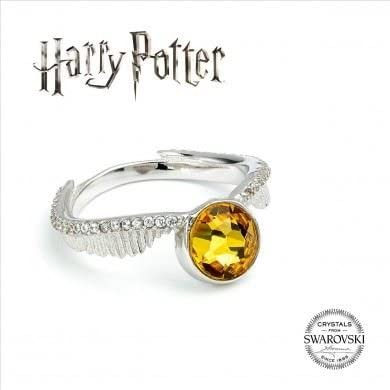 "Bague ""Vif d'Or"" Harry Potter x Swarovski-Very Bad Geek"