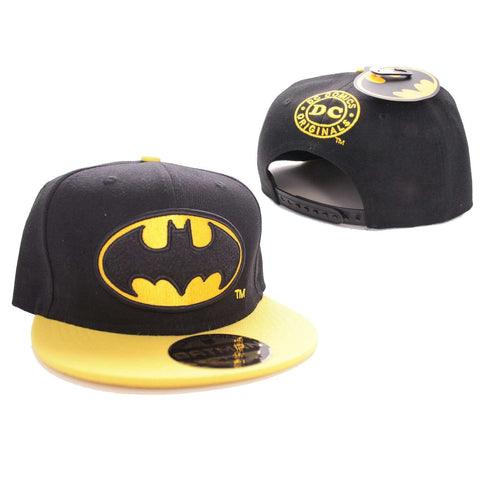 "Casquette Snapback Batman ""logo""-Very Bad Geek"