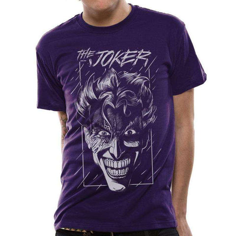"T-Shirt Unisexe - DC Batman ""Joker"" violet-Very Bad Geek"