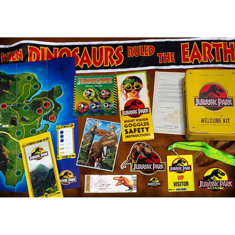 Coffret collector Jurassic Park - Welcome Kit Standard Edition-Very Bad Geek