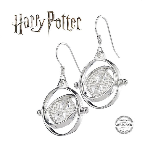 "Boucles d'oreilles ""Retourneur de Temps"" Harry Potter x Swarovski-Very Bad Geek"