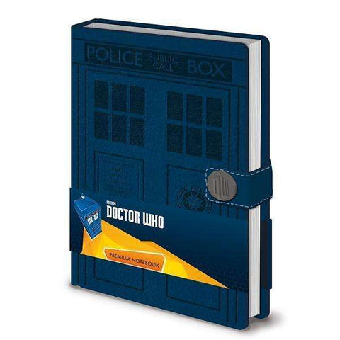 "Cahier A5 Deluxe ""Tardis"" - Doctor Who"