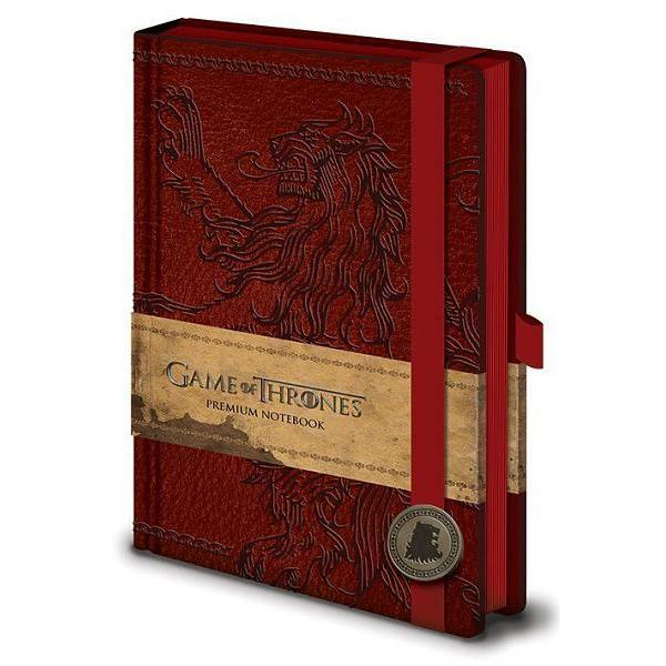 "Cahier A5 Deluxe ""Lannister"" - Game of Thrones"