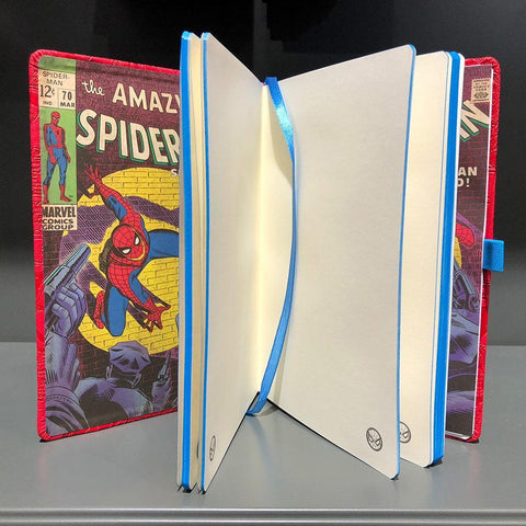 "Cahier A5 Deluxe ""Spider-Man"" - Marvel Comics-Very Bad Geek"