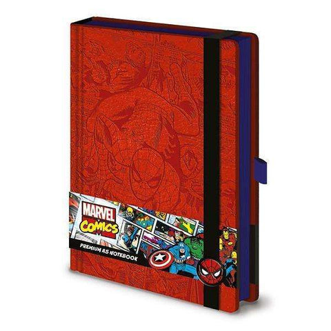 "Cahier A5 Deluxe ""Spider-Man"" - Marvel Comics"