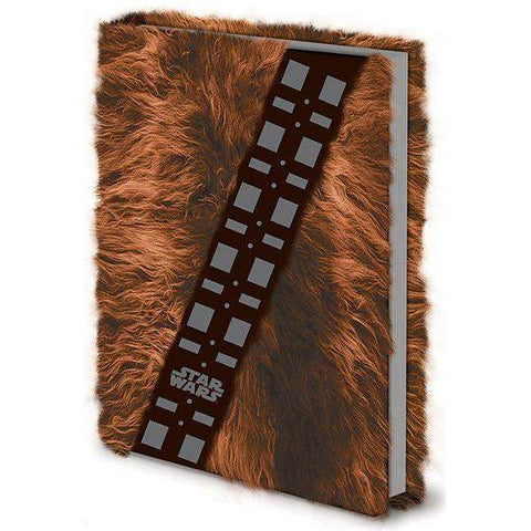"Cahier A5 Deluxe ""Fourrure Chewbacca"" - Star Wars"