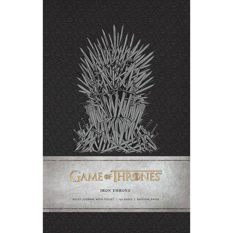"Cahier A5 Deluxe ""Trône de Fer"" Game of Thrones"