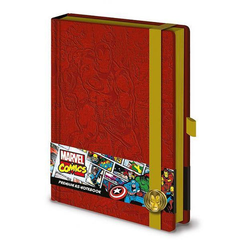 "Cahier A5 Deluxe ""Iron Man"" - Marvel Comics"