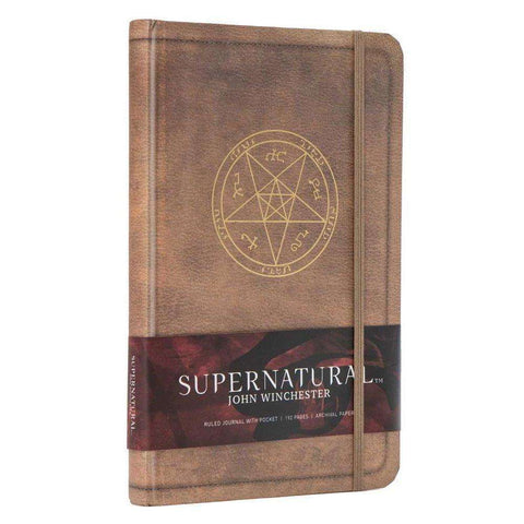 "Cahier A5 Deluxe ""John Winchester"" Supernatural"