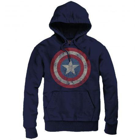 Sweat à Capuche Captain America - Hoodie Unisexe-Very Bad Geek