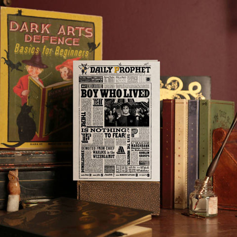 Carte de voeux lenticulaire Harry Potter - The Boy Who Lived-Very Bad Geek