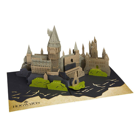 "Carte de voeu Harry Potter ""Pop-Up 3D"" - Poudlard"