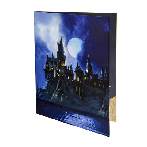 "Carte de voeu Harry Potter ""Pop-Up 3D"" - Poudlard-Very Bad Geek"