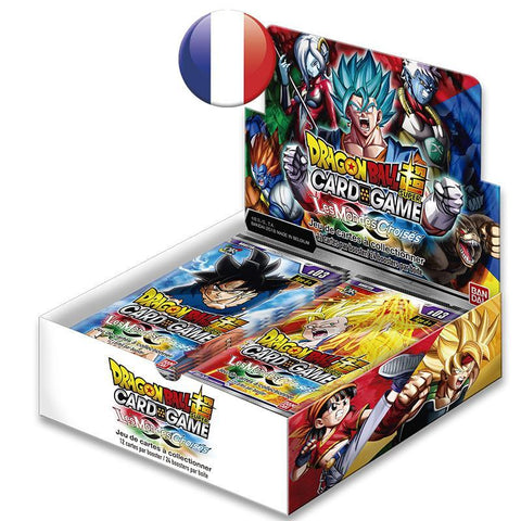 "Display de 24 Boosters de 12 cartes Dragon Ball Super FR - Série 3 ""Les Mondes Croisés"""